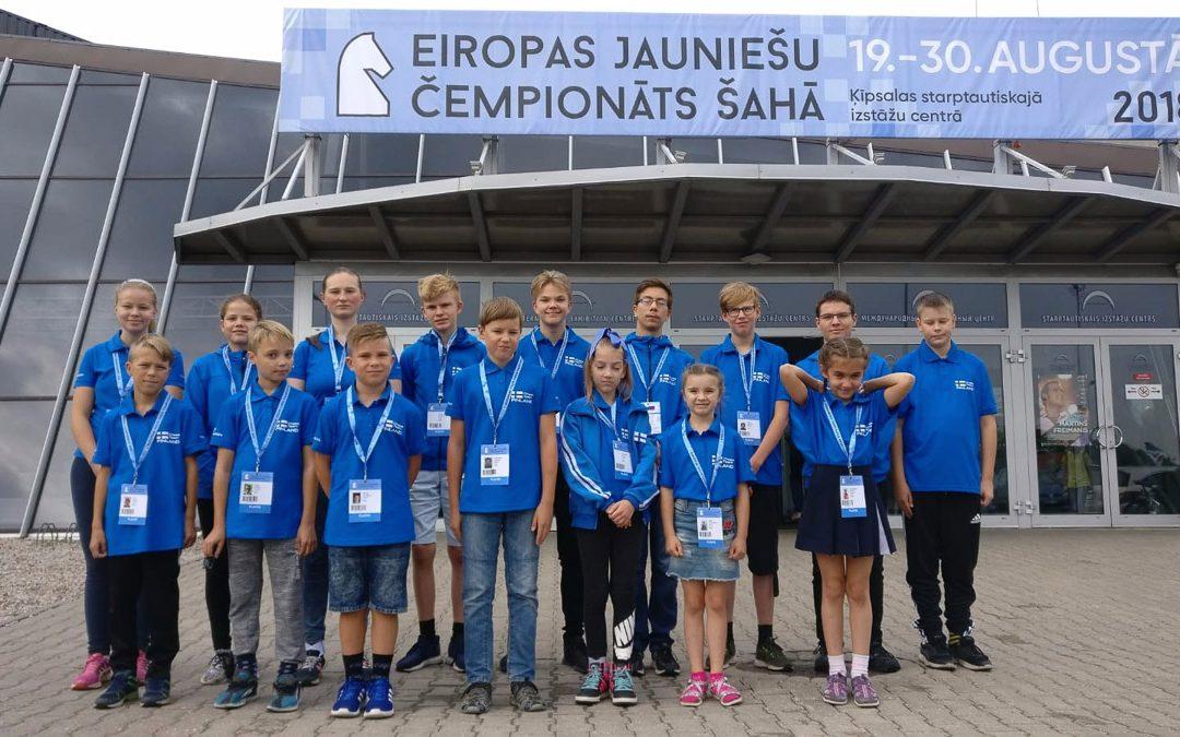 Suomalaiset EM-kisoissa Riiassa